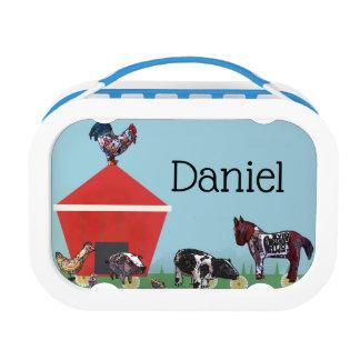 Farm Friends Lunch Box