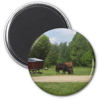 Farm Friends Refrigerator Magnet