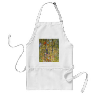 Farm Garden with Crucifix cool Apron