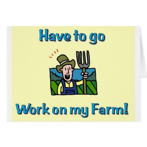 Farm gifts card