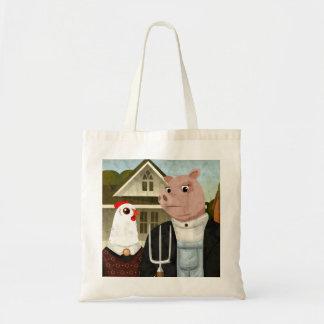 Farm Gothic Tote Bag