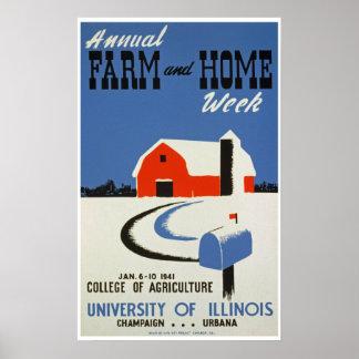 Farm & Home Week Poster