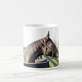 Farm Horse Basic White Mug