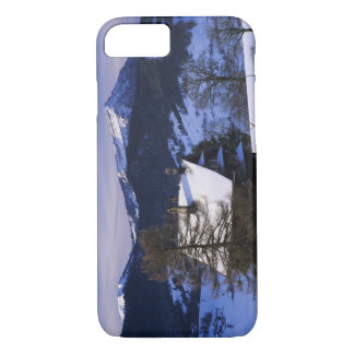 Farm house and Mount Rigi and Pilatus, iPhone 8/7 Case