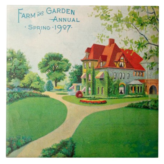 Farm House Kitchen Decor 6 x 6 Ceramic
