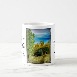 Farm House Painting CTC Mug