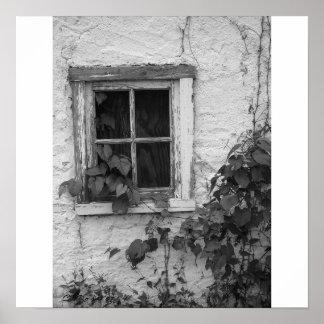 """Farm House Window"" Poster"