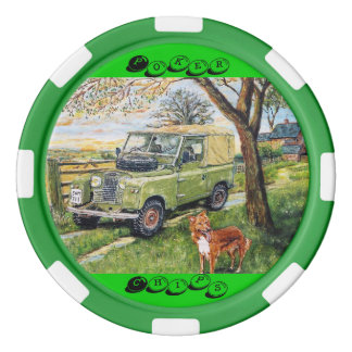 """FARM"" Image Poker Chips"