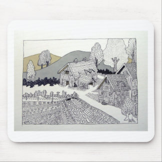 Farm in Vermont by Piliero Mouse Pad