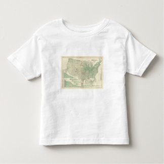 Farm land by counties toddler T-Shirt