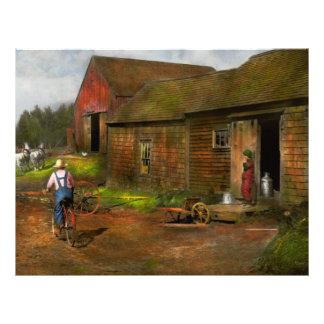 Farm - Life on the farm 1940s 21.5 Cm X 28 Cm Flyer