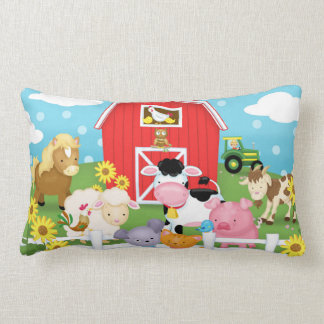 Farm Lumbar Pillow