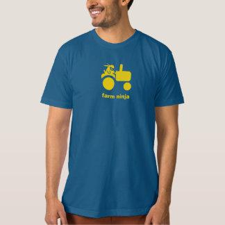 Farm Ninja - Tractor - yellow T-Shirt