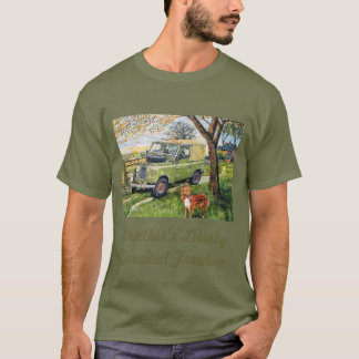 """""""Farm"""" Old Style Land Rover T-Shirt"""