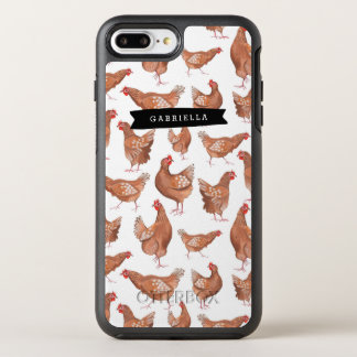 Farm Rooster Pattern | OtterBox | iPhone