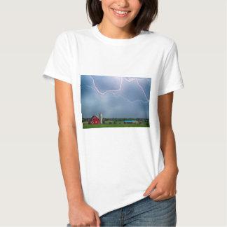 Farm Storm HDR T-shirts