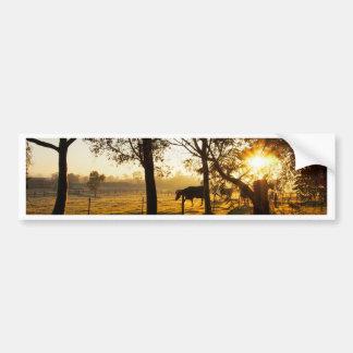 Farm Sunrise Bumper Sticker