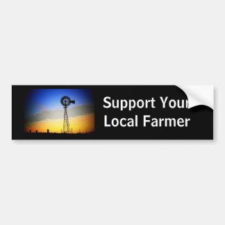 Farm Support Bumper Sticker - Customized