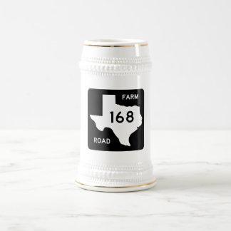 Farm-to-Market Road 168, Texas, USA Beer Steins