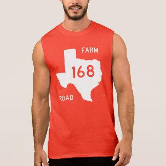 Farm-to-Market Road 168, Texas, USA Sleeveless Tees