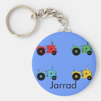Farm Tractors Key Ring