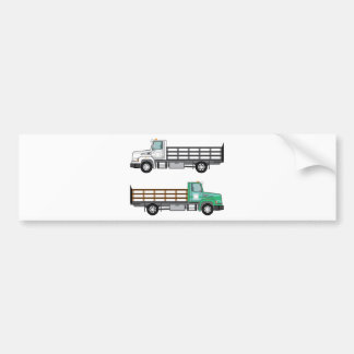 Farm Truck Bumper Sticker