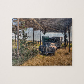 Farm Truck Out Of Order Jigsaw Puzzle