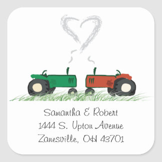 Farm Wedding Envelope Seal