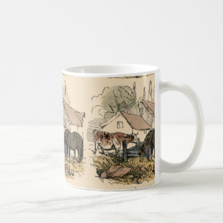 Farm With Cow and Horse Mugs