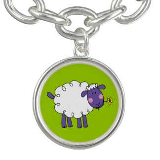 farm woolly sheep