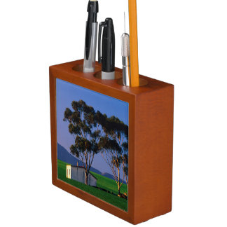 Farm Worker's Cottage And Wheat Fields, Overberg Desk Organiser