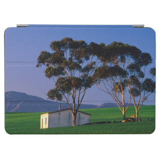 Farm Worker's Cottage And Wheat Fields, Overberg iPad Air Cover