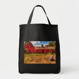 Farm - Working in the fields Canvas Bags