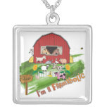 Farmaholic Online Farming  Necklace