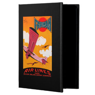 Farman Brothers Airlines F-170 Monoplane Poster iPad Air Cases