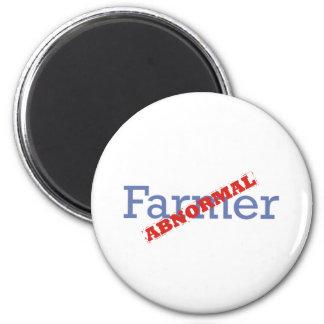 Farmer / Abnormal 6 Cm Round Magnet