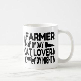 Farmer Cat Lover Coffee Mug