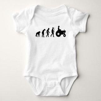 Farmer evolution baby bodysuit