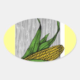 farmer oval sticker