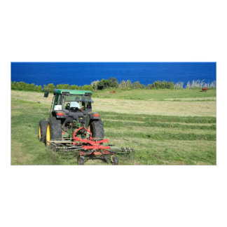 Farmer Personalized Photo Card