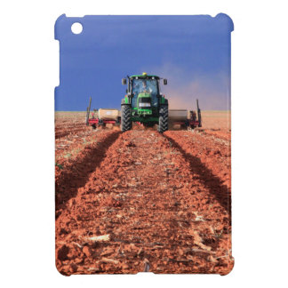 Farmer Planting Maize Using Tractor, Vaalkop Case For The iPad Mini