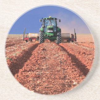 Farmer Planting Maize Using Tractor, Vaalkop Coaster