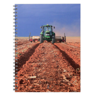 Farmer Planting Maize Using Tractor, Vaalkop Notebook