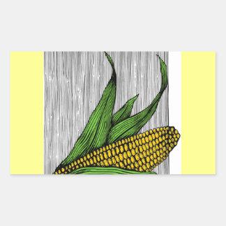 farmer rectangular sticker