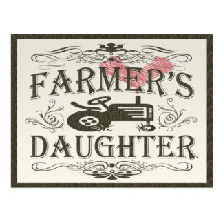 Farmer s Daughter Post Card