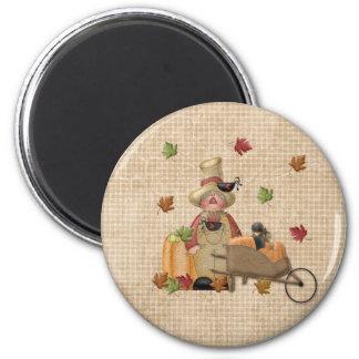 Farmer Scarecrow Magnet