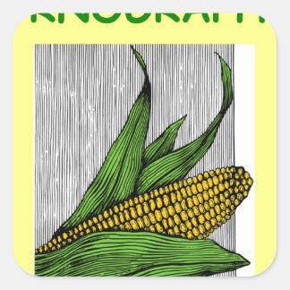 farmer square stickers