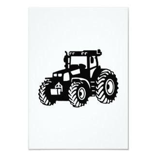 Farmer Tractor Custom Invite