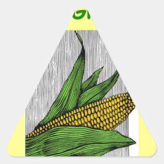 farmer triangle sticker