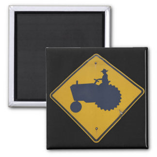 Farmer Xing Square Magnet